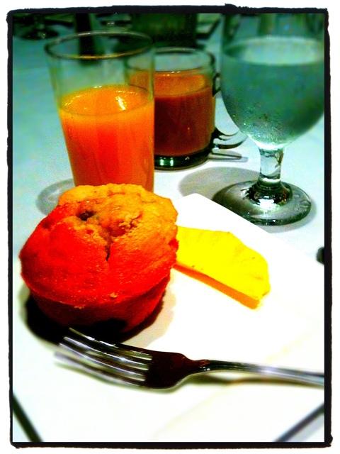 my breakfast at #smclt