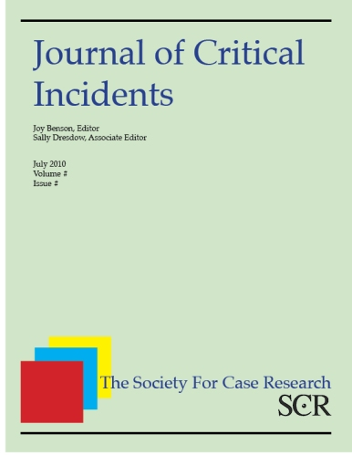 Journal of Critical Incidents