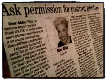 Dear Abby - December 11, 2011